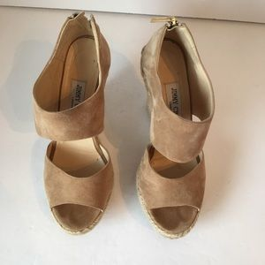 Jimmy Choo patriot nude suede size 8